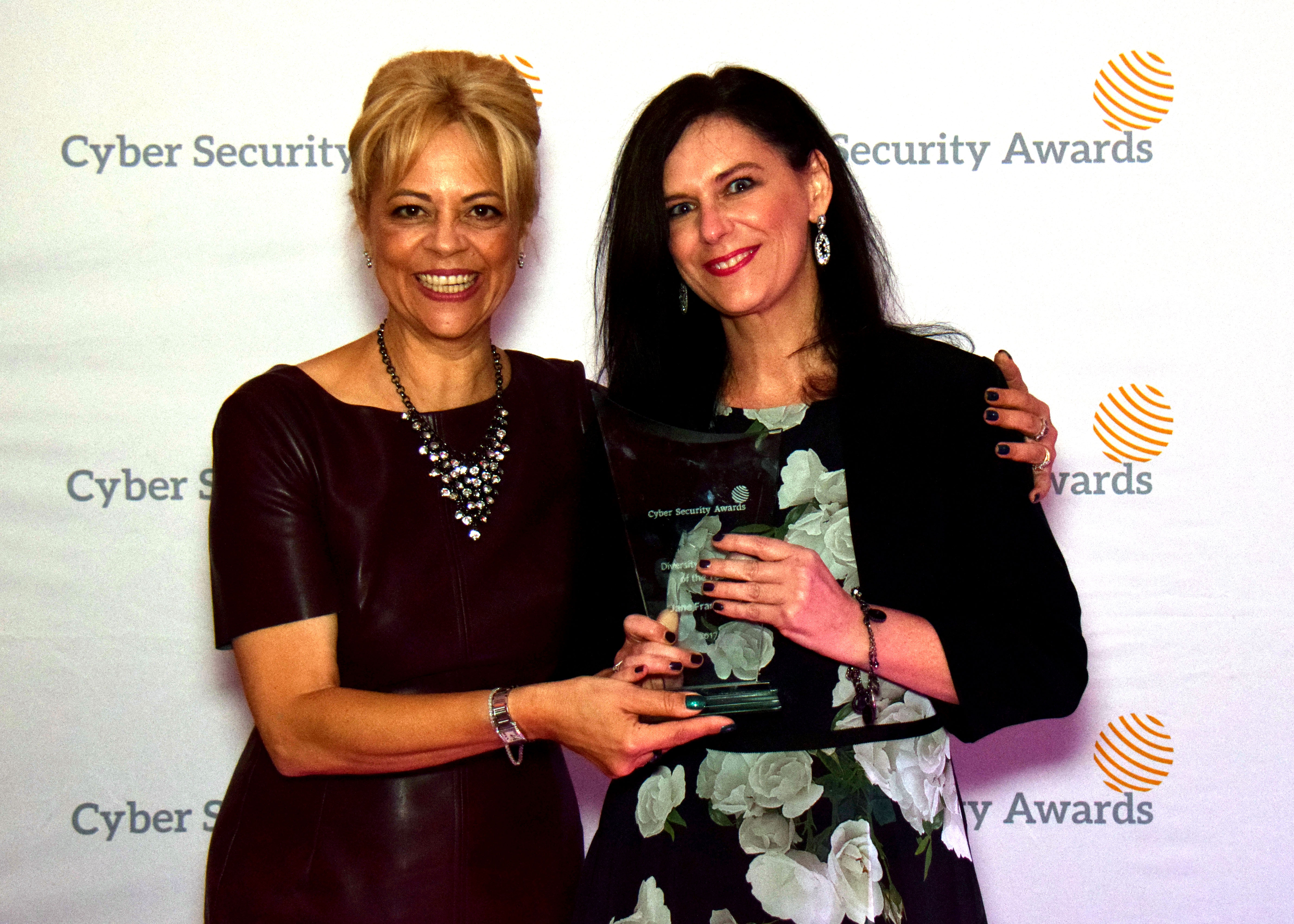 2017 Cyber Security Awards Diversity Champion of the Year Jane Frankland