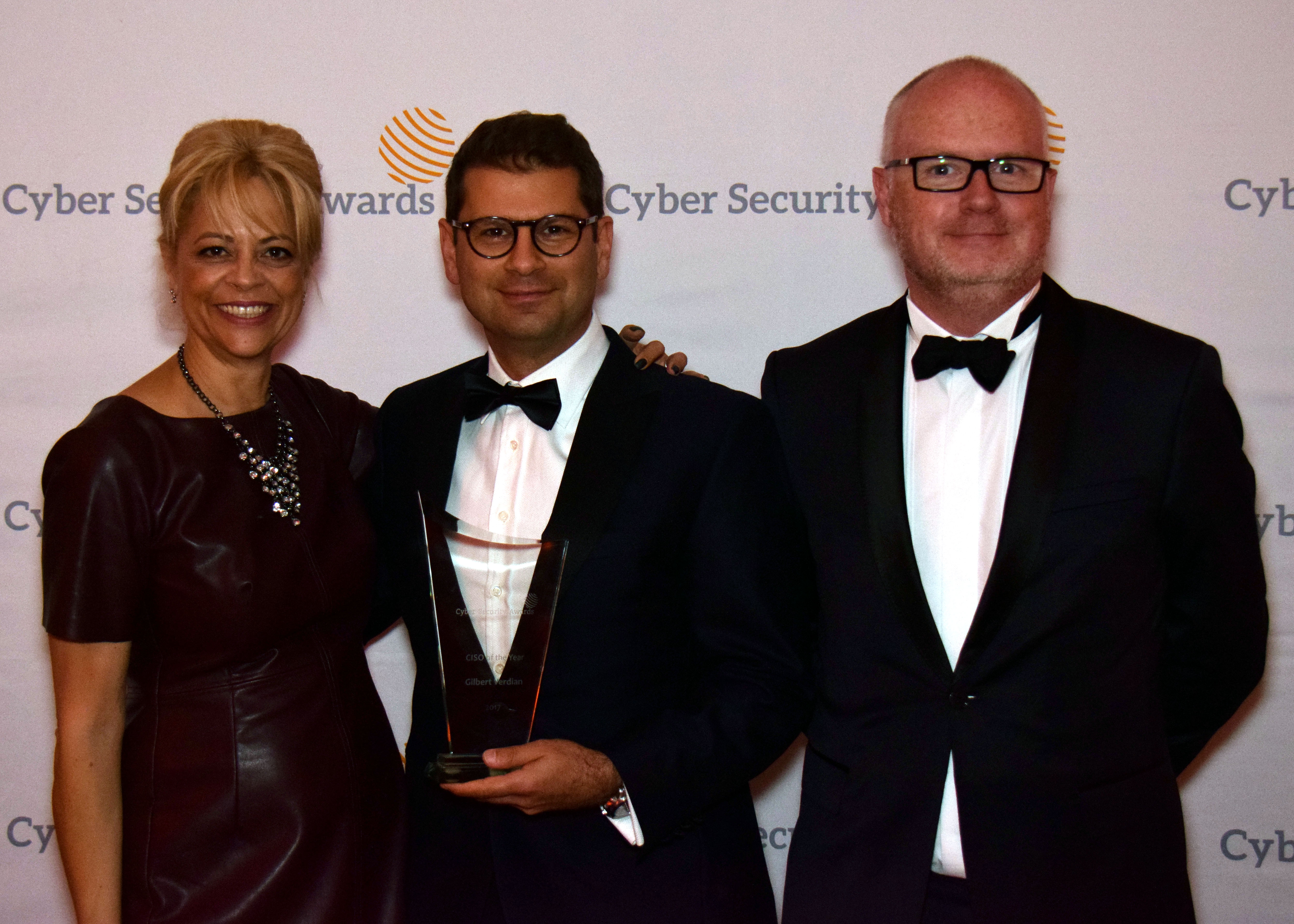 2017 Cyber Security Awards CISO of the Year Gilbertrt Verdian